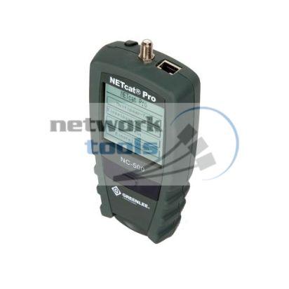 Тестер сети LAN GreenLee NETcat Pro NC-500