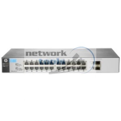 HP Network 1810-24G V2 J9803A Настраиваемый коммутатор 24 порт 1000Base-TX