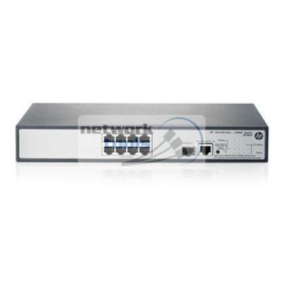 HP Network 1910-8G-PoE JG537A Настраиваемый коммутатор 8 порт 1000Base-TX PoE