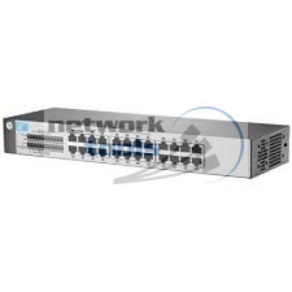 HP Network 1410-24 J9663A Коммутатор неуправляемый 24-портовый 100Мбит