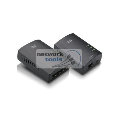 Linksys PLSK-400 Powerline AV Adapter Kit