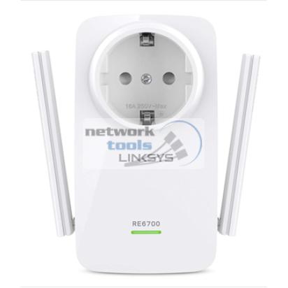 Linksys RE6700 Двухдиапазонный Wi-Fi репитер  до 1200 Мбитс