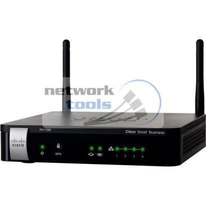 Linksys Cisco SB RV110W Межсетевой экран с Wi-Fi