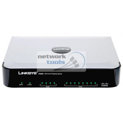 Linksys Cisco SB SPA8000 Шлюз VoIP 8FXS
