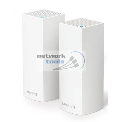 Linksys VELOP WHOLE HOME MESH WHW0302-EU 2x маршрутизатора Wi-Fi 802.11 AC