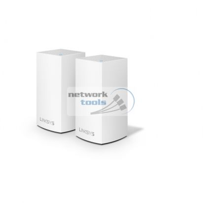 Linksys VELOP WHOLE HOME MESH VLP0102 2x маршрутизатора Wi-Fi 802.11 AC, WHW0102