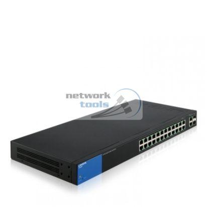 Управляемый Smart коммутатор Linksys LGS326MP