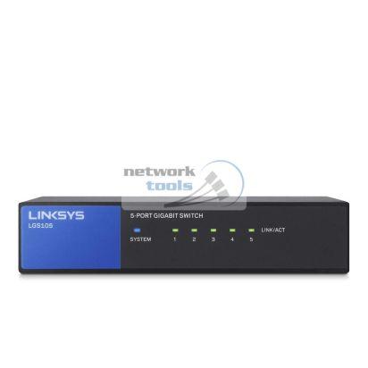 Linksys LGS105 Коммутатор неуправляемый 5-портовий 1Гбит