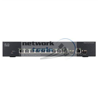 Linksys Cisco SB SF302-08 Коммутатор 8 порт 100Base-TX