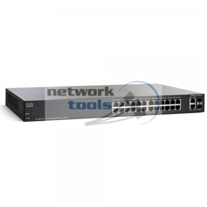 Linksys Cisco SB SG200-26P Коммутатор 26 порт 1000Base-TX PoE