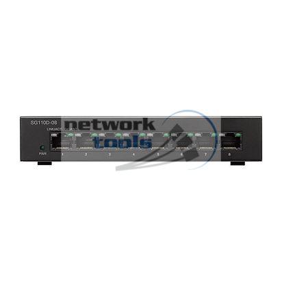 Cisco SB SG110D-08 Коммутатор неуправляемый 8-портовий 1Гбит