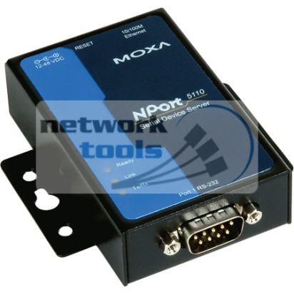 MOXA NPort 5110A Конвертер, сервер асинхронный