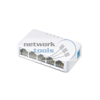 Mercusys MS105 Коммутатор неуправляемый 5-портовый 10/100Mbps