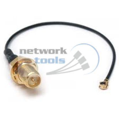 Mikrotik AC/UFL-RP-SMA Переходник UFL-RP-SMA антенный