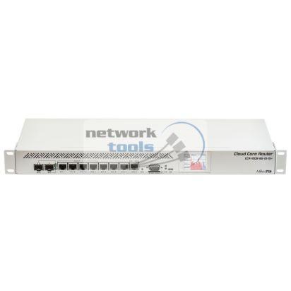 Mikrotik CCR1009-8G-1S-1S+ Маршрутизатор 2GB RAM, 1xSFP и 1xSFP+, 8xGbit LAN, 1U