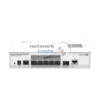 Mikrotik CRS212-1G-10S-1S-IN Управляемый коммутатор 1*Gigaport 10xSFP, 1xSFP+ ports