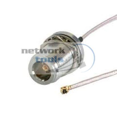 Mikrotik AC/UFL Переходник N-type female-UFL антенный