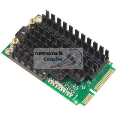 Mikrotik R11e-2HPnD Адаптер miniPCIe карта на 2,4 ГГц WiFi повышенной мощности