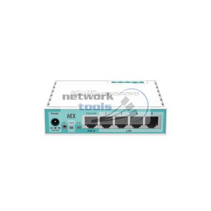 Mikrotik hEX (RB750Gr2) 5-ти портовый, гигабитный проводной маршрутизатор