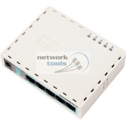 Mikrotik RB951-2n SOHO Маршрутизатор для дома c wi-fi 5xLAN