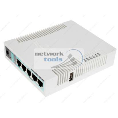 Mikrotik RB951G-2HnD Гигабитный маршрутизатор SOHO 5 портов с wi-fi и PoE