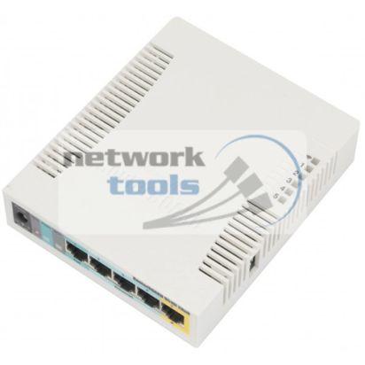 Mikrotik RB951Ui-2HND Маршрутизатор SOHO 5 портов с wi-fi и PoE