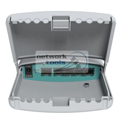 Mikrotik FiberBox (CRS105-5S-FB) Проводной коммутатор с 5*SFP портов, для улицы