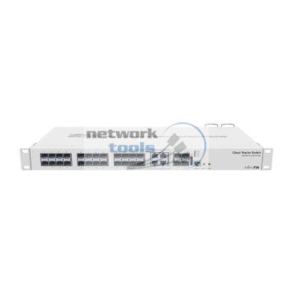 Mikrotik CRS328-4C-20S-4S+RM Коммутатор 24 гигабитных порта c SFP