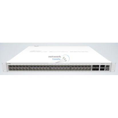 Mikrotik CRS354-48P-4S+2Q+RM Управляемый POE коммутатор 48 Гигабитных порта и 4 SFP+