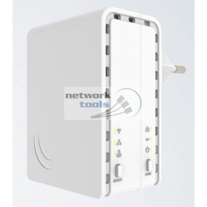 Mikrotik PL7411-2nD (PWR-Line AP) Адаптер PowerLine c Wi-Fi 300 Мбит/с