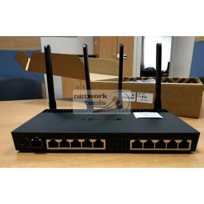 Mikrotik RB4011iGS+5HacQ2HnD-IN Беспроводной гигабитный маршрутизатор 10-портов 802.11AC