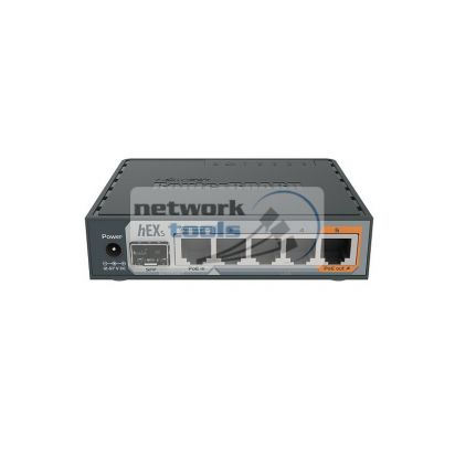 Mikrotik RB760IGS (hEX S) 5*порт, гигабитный проводной маршрутизатор с SFP