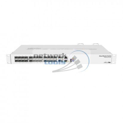 Mikrotik CRS326-24S+2Q+RM Коммутатор 24 гигабитных порта c SFP, 2 порта 40G