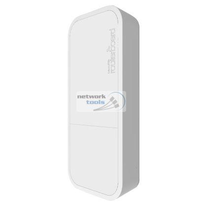 Mikrotik wAP (RBwAP2nD) Точка доступа 2,4 ГГц, белый