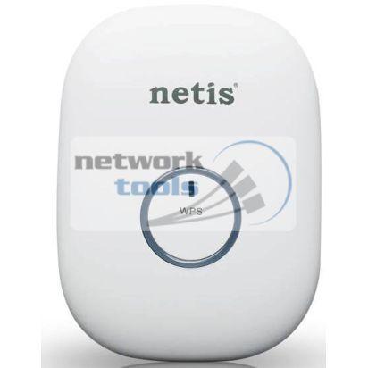 NETIS E1 Plus WHITE Wi-Fi усилитель беспроводной 300Mbps