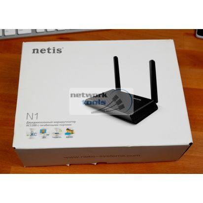 NETIS N1 Беспроводной AC1200 маршрутизатор с гигабитными портами