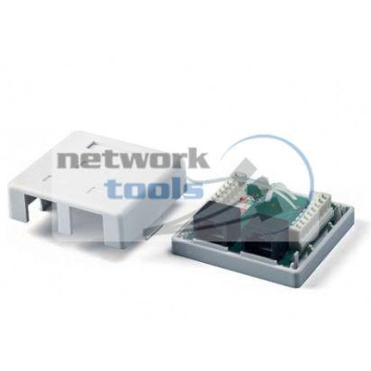 NETS MB-UTP2  Розетка UTP 2 порт напольная RJ45