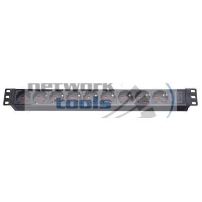 NETS SPP8  Фильтр сетевой 8 розеток RM