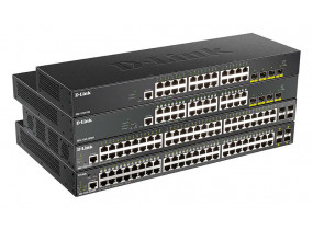 Новая линейка умных коммутаторов D-Link DGS-1250