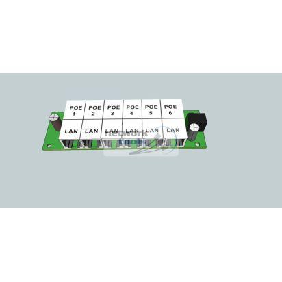 ExtraLink PoE Injector 6 LAN Инжектор POE для IP камер