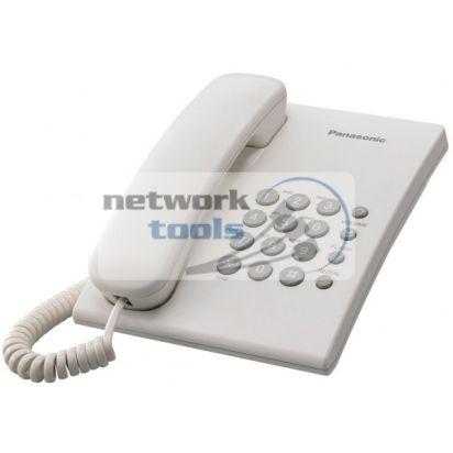 Телефон проводной Panasonic KX-TS2350UAW, белый