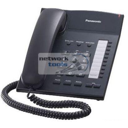 Телефон проводной Panasonic KX-TS2382UAB, чёрный