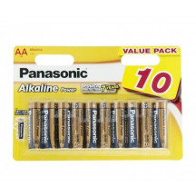 Panasonic Alkaline Power AA BLI 10 Батарейка