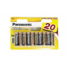 Panasonic Alkaline Power AA BLI 20 Батарейка