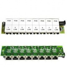 ExtraLink PoE Injector 8 LAN