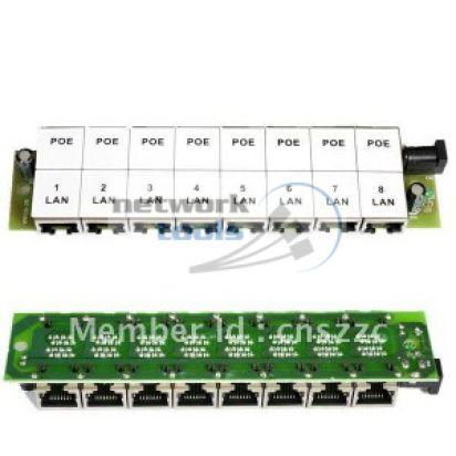 ExtraLink PoE Injector 8 LAN Инжектор POE для IP камер