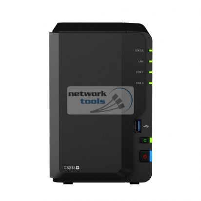 Synology DS218+ Сетевое хранилище NAS на 2xHDD