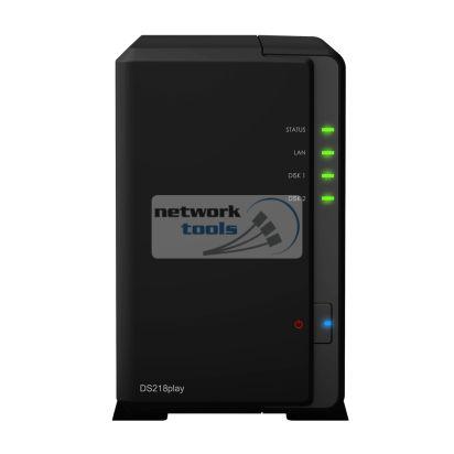 Synology DS218play Сетевое хранилище NAS на 2xHDD
