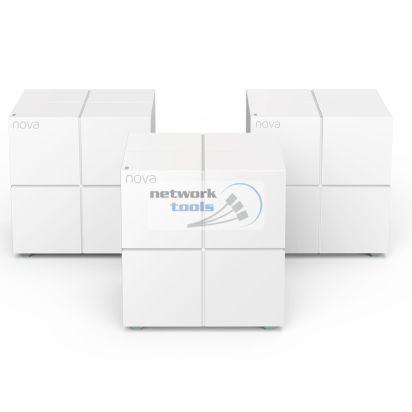 Tenda Nova MW6-KIT-3 Двухдиапазонная Mesh-система 3-pack Wi-Fi 802.11ac