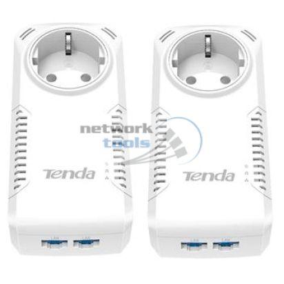 TENDA P1002P-KIT Комплект 2-портовых гигабитных адаптеров с розеткой